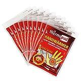 Thermopad Handwärmer | kuschlig weiches Wärmekissen | 12 Stunden wohltuende Wärme von 55°C | angenehme Taschenwärmer | 10 Paar (20 Stück)