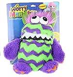 Worry Monster Plüsch Stofftier lila & green