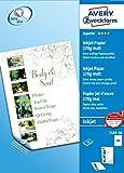 AVERY Zweckform 2589-50 Superior Inkjet Papier (A3, beidseitig beschichtet, matt, 170 g/m²) 50 Blatt