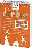 Märchen Spiel GALGENMÄNNCHEN | Rate 60 KINDERHELDEN | Spiele-Klassiker 2.0 | Geschenk für große & kleine Fans von Märchen | Reisespiel | Partyspiel | Wichteln | A6-Block im Abreißkalender-Format