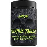 Kreatin Monohydrat - 240 vegane Tabletten | gepuffertes Creatin - Kre-Alkalyn mit Vitamin B6 | Hochdosiert - 3000mg pro Portion | Fitness Workout, Kraftsport und Muskelaufbau | von GYMPUNK