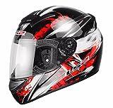LS2 FF351 Wolf - Motorrad-Helm - Integralhelm - ACU Gold - Schwarz/Rot - L