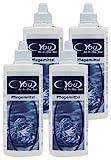 CYOU All-In-One Basic Pflegemittel für weiche Kontaktlinsen, Sparpack,  4 x 360 ml