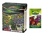 Bienen und Hummelmagnet | Blumenwiese | 1x Kamelien-Balsaminen kostenlos (schneckenresistent) | ab sofort Winter Aktionspreis