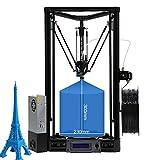 ANYCUBIC Kossel Linear PLUS 3D Druckerbausatz (verbesserte Version) Mit Auto Leveling und teilweise vorgefertigt