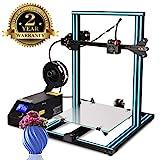 Colorfish 3D Drucker A10s DIY Desktop 3D Drucker Hochpräzises und schnelles Drucken von 3D-Modellen (200mm/s)Printer with 1.75mm ABS/PLA 3D Drucker Filament,Druckgröße: 300X300X 400mm (A10S 3D)