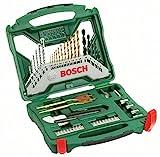 Bosch DIY 50tlg. X-Line Titanium-Bohrer und Schrauber-Set