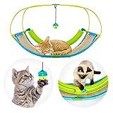 Pro Petcare   3 in 1 Katzen-Spielzeug - Spielwippe, Kratzbrett, Schlafplatz. Abwechslungsreich und pflegeleicht