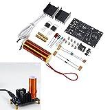 Bluelover DC 15-24 V 2A DIY Elektronische Mini Musik Tesla Spule Plasma Horn Lautsprecher Kit Produzieren Arc Music Player funktion