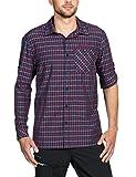 Vaude Herren Albsteig Long Sleeve Shirt Hemd, Eclipse, XL