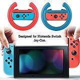 VBESTLIFE, Spiel Lenkräder, Ein Paar Spiel Konsole Lenkrad für Nintendo Schalter Joy-Con/Links und Rechts Seiten/Mehrere Funktionen