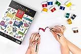 Arteza Kids Aquarellblock für Kinder — Weißes Malpapier für Wasserfarben — Din A4 Aquarellpapier — 30 Blätter Pro Malblock 2 Stück Set