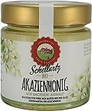 Bio Honig, Akazienhonig, beste Qualität vom deutschen Bio-Imker, gesammelt in Deutschland, flüssig, hell, klar, 250g, Schellartz Bio