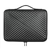 MCHENG Stoßfest Notebook Handtaschen 10.1 Zoll Laptop Sleeve Hülle Laptoptasche Schutzabdeckung Hülle Tasche für 9,7' Samsung Galaxy Tab S3 / 10' Lenovo Tab 4 Plus / 10,5' 11' iPad Pro Tablet, Schwarz