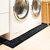 Floordirekt PRO Antivibration Schutzmatte - Gummigranulat - 60x60x2cm - für alle Böden und viele Anwendungsbereiche