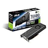 Asus Turbo-GTX1060-6G Gaming Nvidia GeForce Grafikkarte (PCIe 3.0, 6GB GDDR5 Speicher, HDMI, DVI, Displayport)