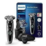 Philips Series 9000 Nass- & Trockenrasierer S9711/31, mit Reinigungsstation Plus und Bartstyler