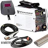 STAHLWERK ARC 200 MD IGBT - Schweißgerät DC MMA/E-Hand Welder mit echten 200 Ampere sehr kompakt, weiß, 5 Jahre Herstellergarantie*
