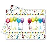 Procos Happy Birthday Tisch Cover