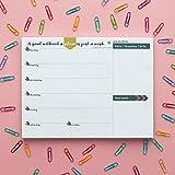 Tabitha Wilde A4 Wöchentlicher Kalender Notizblock 55 Blätter