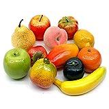 Früchte Mix, 12 Stück Sortiment künstlich, Deko Obst/ NICE PRICE !!!