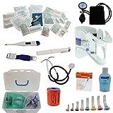 Pulox Erste Hilfe Rucksack, Notfallrucksack mit Modultaschen für den Notfall Einsatz Sport Freizeit Event Fussball (Inhalt ohne Rucksack)