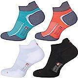 Low-Cut Pro Running Socks (Schwarz – 3 Paare, EU 39-42)