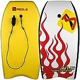 MESLE Bodyboard Speed Skin 41.5, HDPE Slick-Base, bis 90 kg Körpergewicht