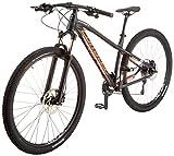 Corratec X Vert 29 0.4 Fahrrad, Schwarz matt/Neon Orange/Silber, 54