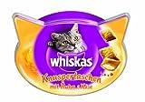 Whiskas Snacks Knuspertaschen mit Huhn und Kse, 4er Pack (4 x 60 g)