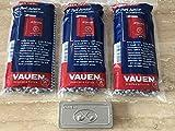 3 x VAUEN Pfeifenreiniger mit Bürste - 80 konische Reiniger + VAUEN Metallbox