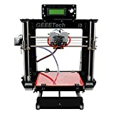 Geeetech Acrylic I3 pro C 3D Drucker-Bausatzzum Selbstbauen, Doppel-Extruder, Zwei-Farb-Drucker, Desktop 3D Drucker