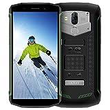 IP68 Smartphone,Blackview BV5800 (2018) Outdoor Handy Wasserdichte Stoßfest Staubdicht, Android 8.1 Smartphone 13MP + 8MP Kameras, 5580mAh mit 18:9 Touch Display Robustes Handy, OTG,GPS,NFC,Grün