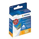 Herma 1383 Transparol Fotoecken selbstklebend (20 mm, Papier mit transparenter Lasche) 500 Stück in Spendepackung
