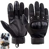 Vintoney Motorradhandschuhe|Herren Taktische Handschuhe|Fahrradhandschuhe|Touchscreen Handschuhe|Sport Handschuhe für Outdoor Motorrad Fahrrad Airsoft Militär Paintball,MEHRWEG