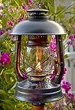 Original DIETZ Gartenlampe mit Reflektor, Höhe 330 mm