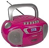 Blaupunkt Boombox 11 PLL   tragbares CD-Radio mit Kassettenplayer inklusive Aux In, Kopfhöreranschluss, Hörbuch-Funktion, LED-Display, Backlight, PLL UKW Tuner   CD Player bestens geeignet für Kinder