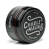 Charlemagne Original Pomade - Perfekter Glanz - Idealer Starker Halt - Haarstyling Wachs für Männer - 100ML - Fettet nicht - hinterlässt keine Flocken - Hergestellt in UK - Barbier Qualität