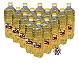 [ 15 x 1000ml ] Erdnussöl/Arachide Olie/Peanut Oil + ein kleines Glückspüppchen - Holzpüppchen