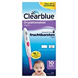 Clearblue Ovulationstest Digital, 10 Tests, 1er Pack (1 x 10 Stück)