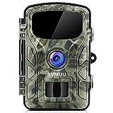 SVMUU Wildkamera 14 MP 1080P Jagdkamera Beutekameras 2.4' LCD mit 940nm IR LED's Sensoren mit Bewegungsaktivierung
