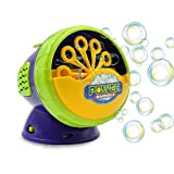 Termichy Seifenblasen-Maschine, Tragbare Seifenblasenmaschine Kinder, Bubble machine für Geburtstagsfeier und Hochzeit, Bubble Blower Maker(Weihnachtsgeschenk für Kinder)