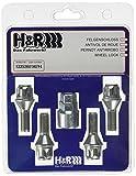 H&R 12252601KEY4 Felgenschloss-Schrauben 4-Er Set Kegel 60 Grad, M12 x 1,25 x 26 mm