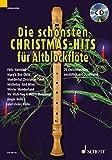 Die schönsten Christmas-Hits für Alt-Blockflöte: 18 Christmas-Hits zusätzlich mit 2. Stimme. 1-2 Alt-Blockflöten. Ausgabe mit CD.