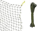 Trixie 44291 Schutznetz, drahtverstärkt, 2 × 1,5 m, olivgrün