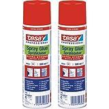tesa Sprühkleber EXTRA STRONG 500 ml farblos - 2er Pack