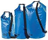 Xcase Wasserdichter Seesack: Urlauber-Set wasserdichte Packsäcke 16/25/70 Liter, blau (Packsäcke aus LKW-Plane)