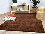 Theko Natur Teppich Indo Gabbeh Ella Braun in 8 Größen