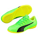 Puma Unisex-Kinder EvoPower Vigor 4 IT Jr Fußballschuhe, Grün (Green Gecko Black-Safety Yellow 01), 38 EU