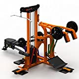 MegaTec MULTIPLEX Workout Station Multi-Gym, Multipresse, Latzug. Dipstation uvm.